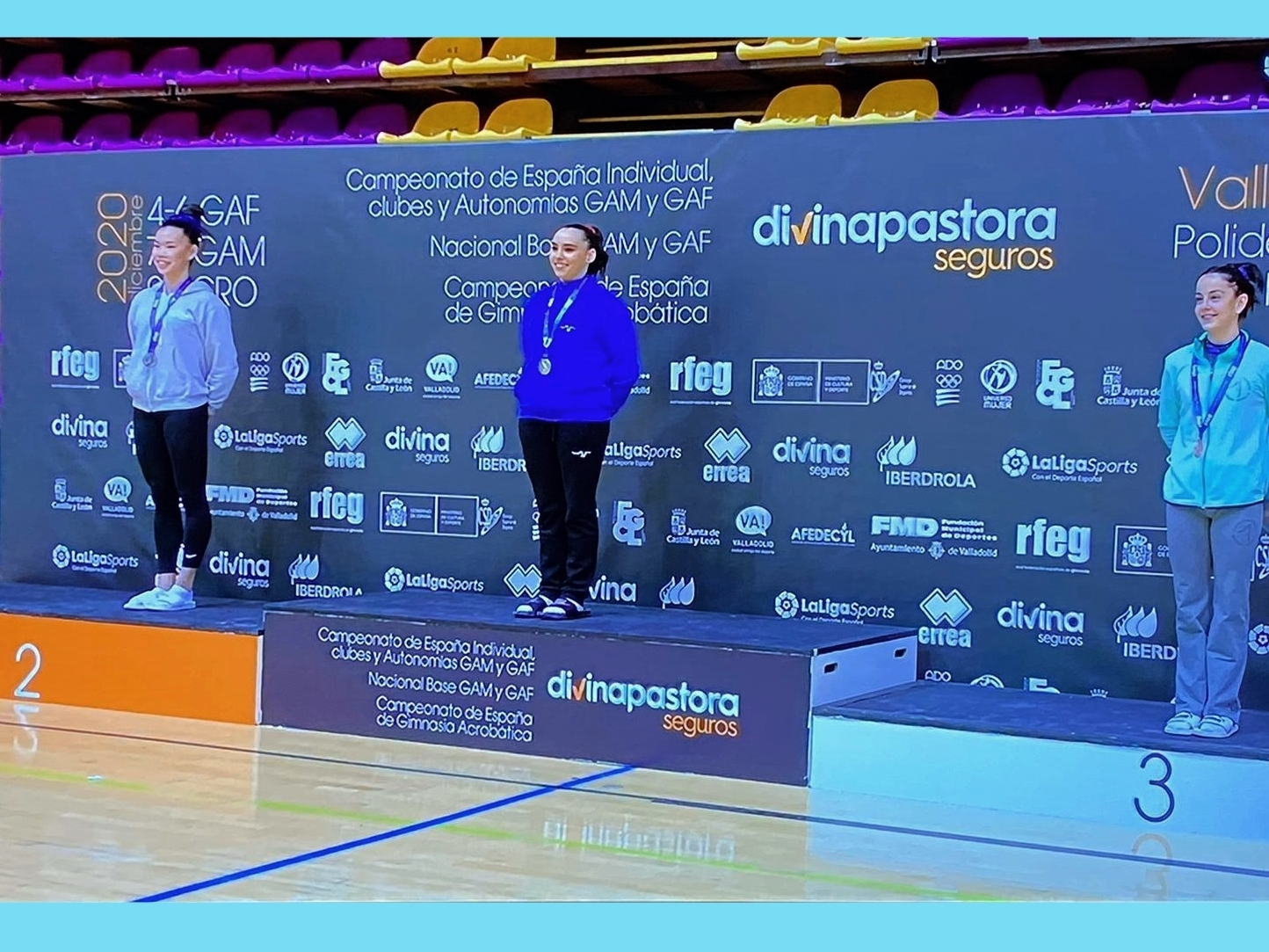 Clàudia Buxeda, subcampiona de salt de potro al campionat d'Espanya de Gimnàstica Artística