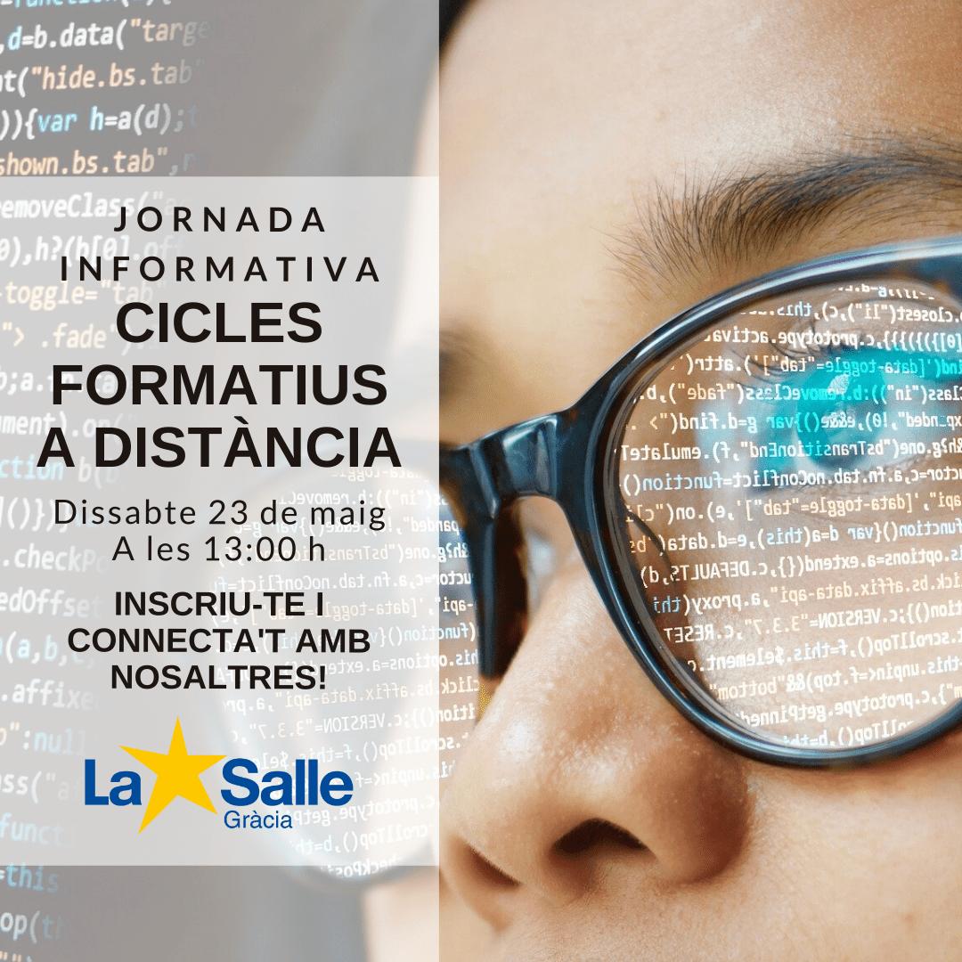 Sessió informativa de Cicles Formatius a distància