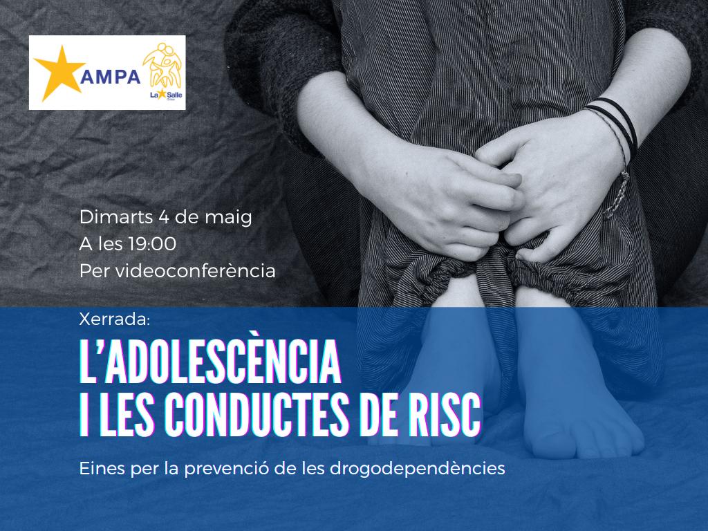 Xerrada: L'adolescència i les conductes de risc