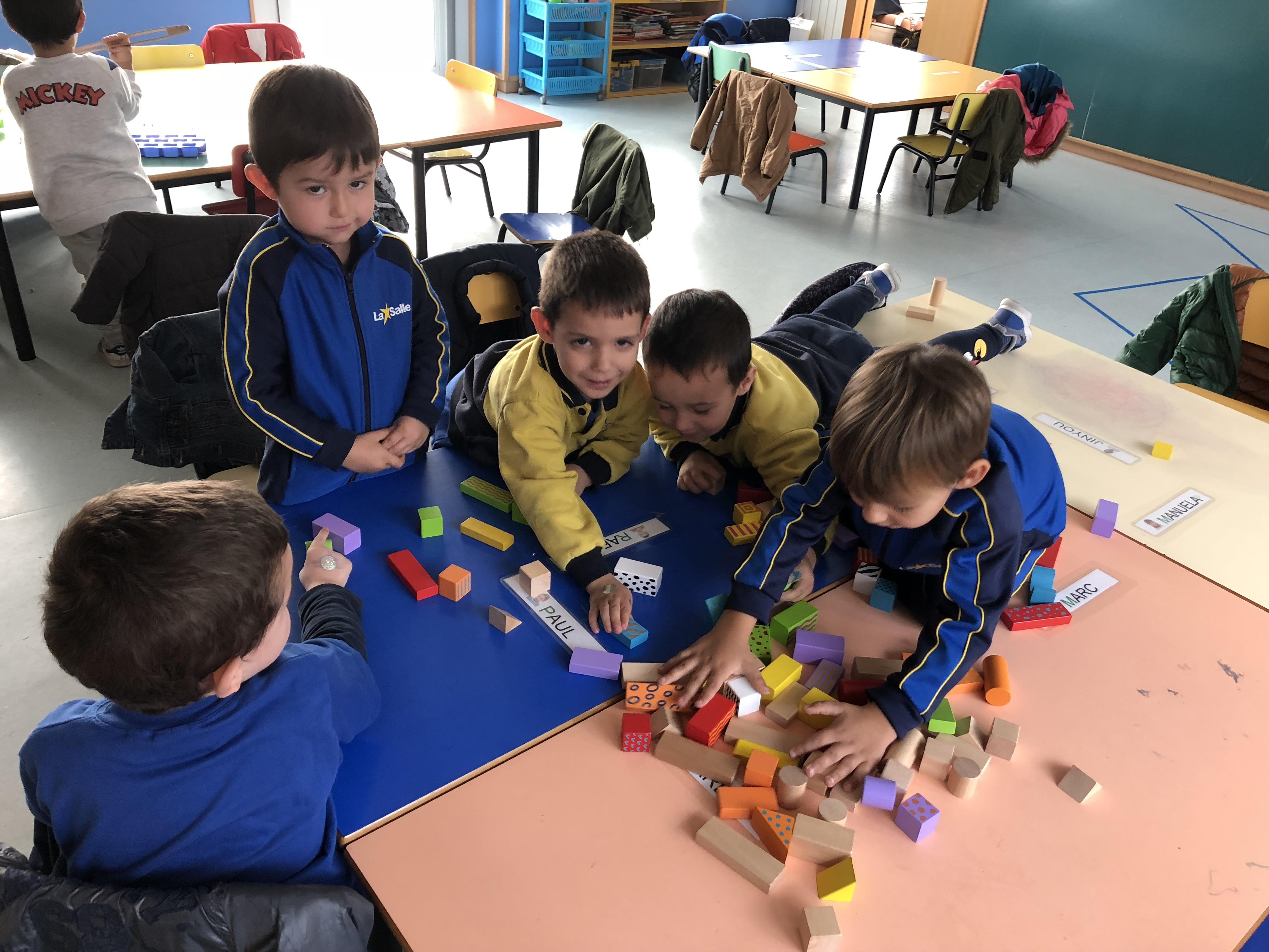 Racons a educació infantil