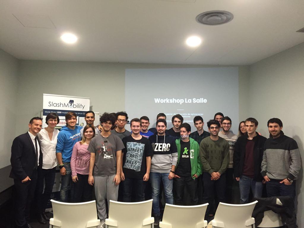 Workshop Slashmobility: estrategias para el desarrollo de Apps