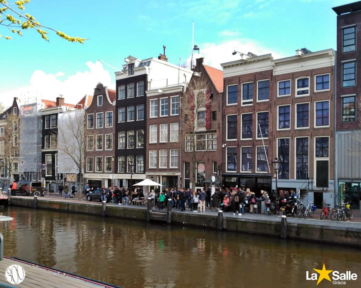 Estada lingüística a Holanda (1r de batxillerat)