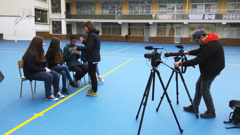 Comença el rodatge del documental fotogràfic per donar veu al projecte social Invisibles