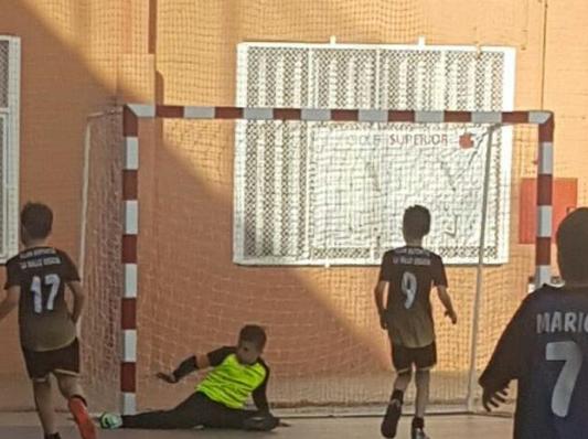 Crònica del partit de fútbol sala Benjamins Montserrat Xavier vs Salle Gràcia