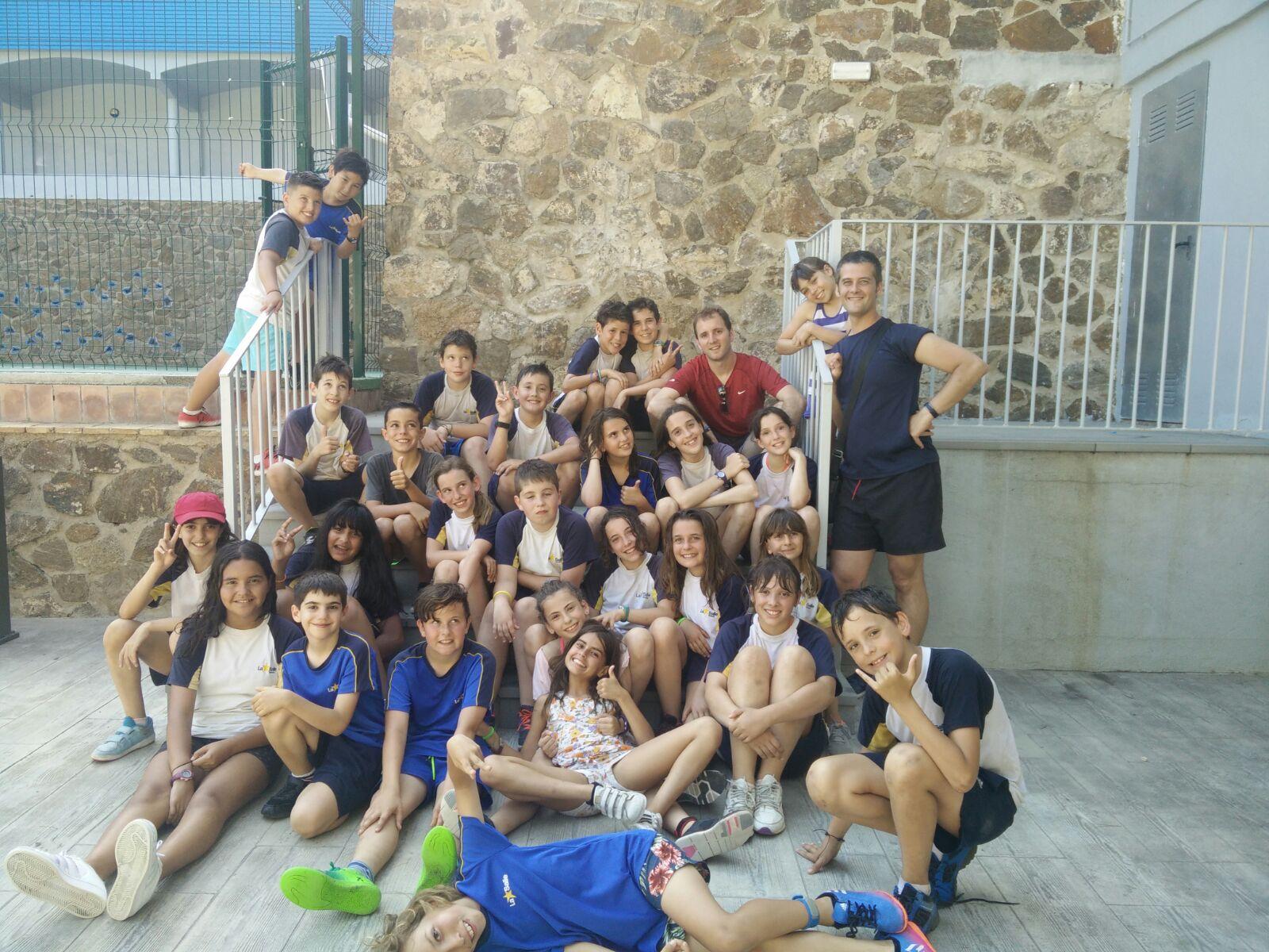 L'alumnat de 5è de Primària viu unes colònies escolars d'aventura a Llafranc, Girona