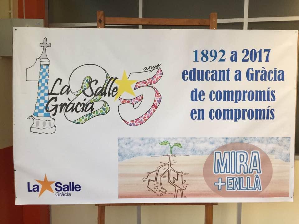 La Salle Gràcia clausura el 125è Aniversari amb un dinar commemoratiu