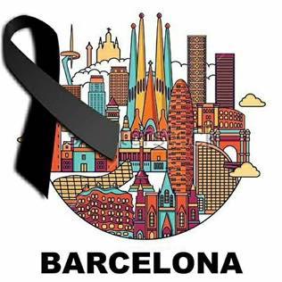 El nostre condol i solidaritat absoluta amb les víctimes de l'atemptat de Barcelona d'avui