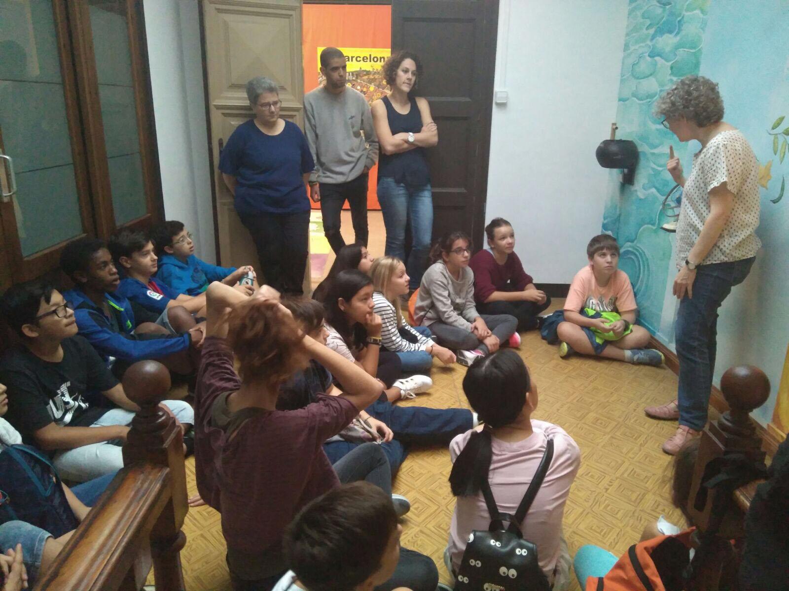 1r d'ESO visita l'espai interreligiós de la Fundació Migra Studium