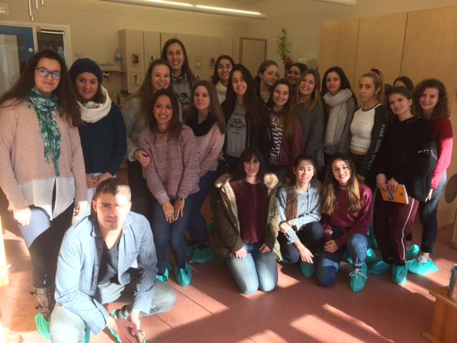 Sortida a l'Escola Bresso Municipal Les Quatre Torres CFGS EI