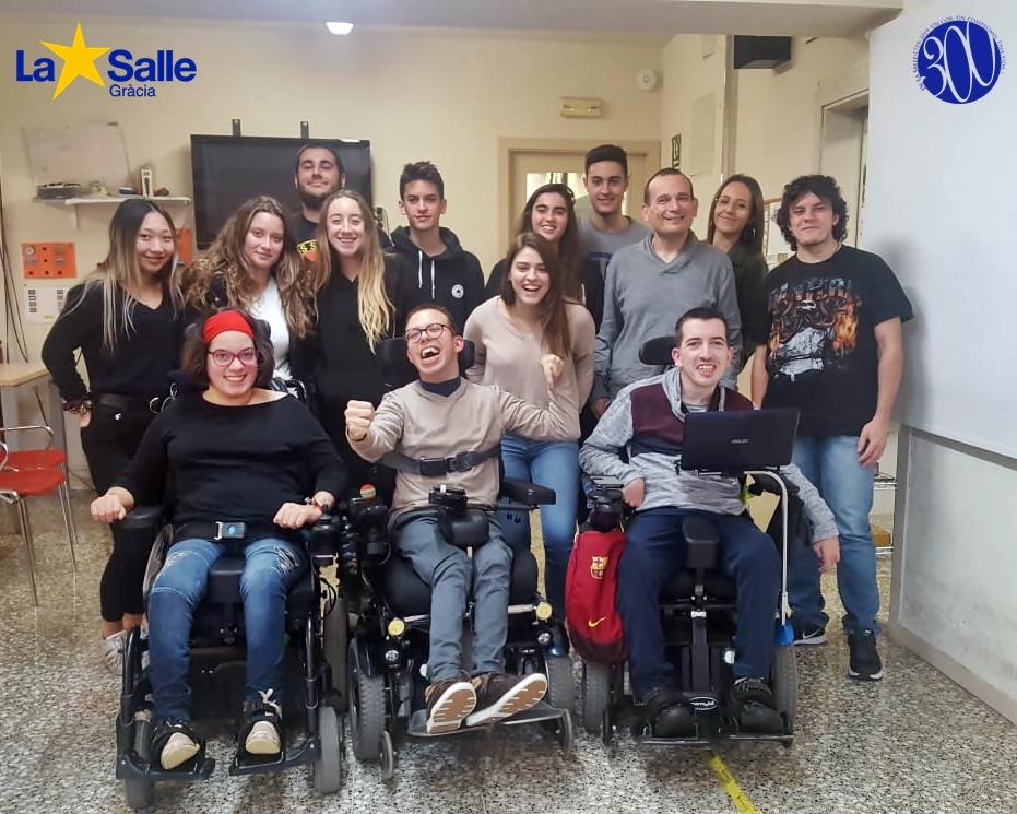 Visita a la Fundació Aspace (1r d'Integració Social)
