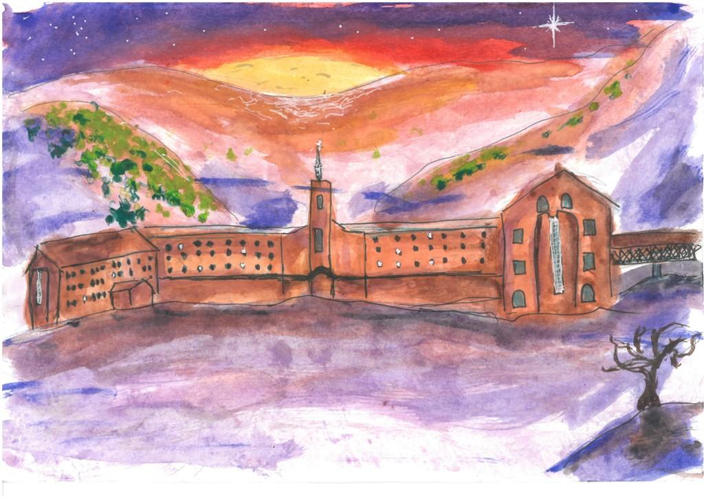 Neus Cumplido (6è de primària), 1r premi del concurs de dibuix Amics de Núria