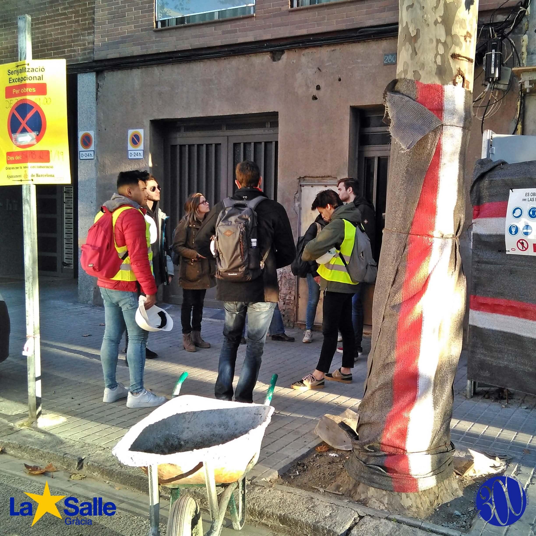 Visita d'obra al carrer Pallars