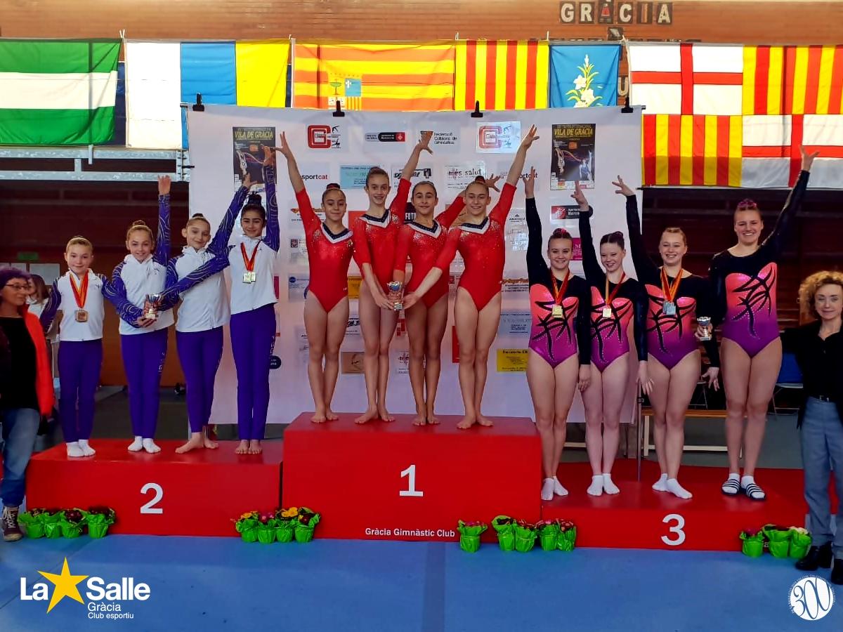 La Salle Gràcia, millor equip femení al XXI Trofeu Internacional Vila de Gràcia