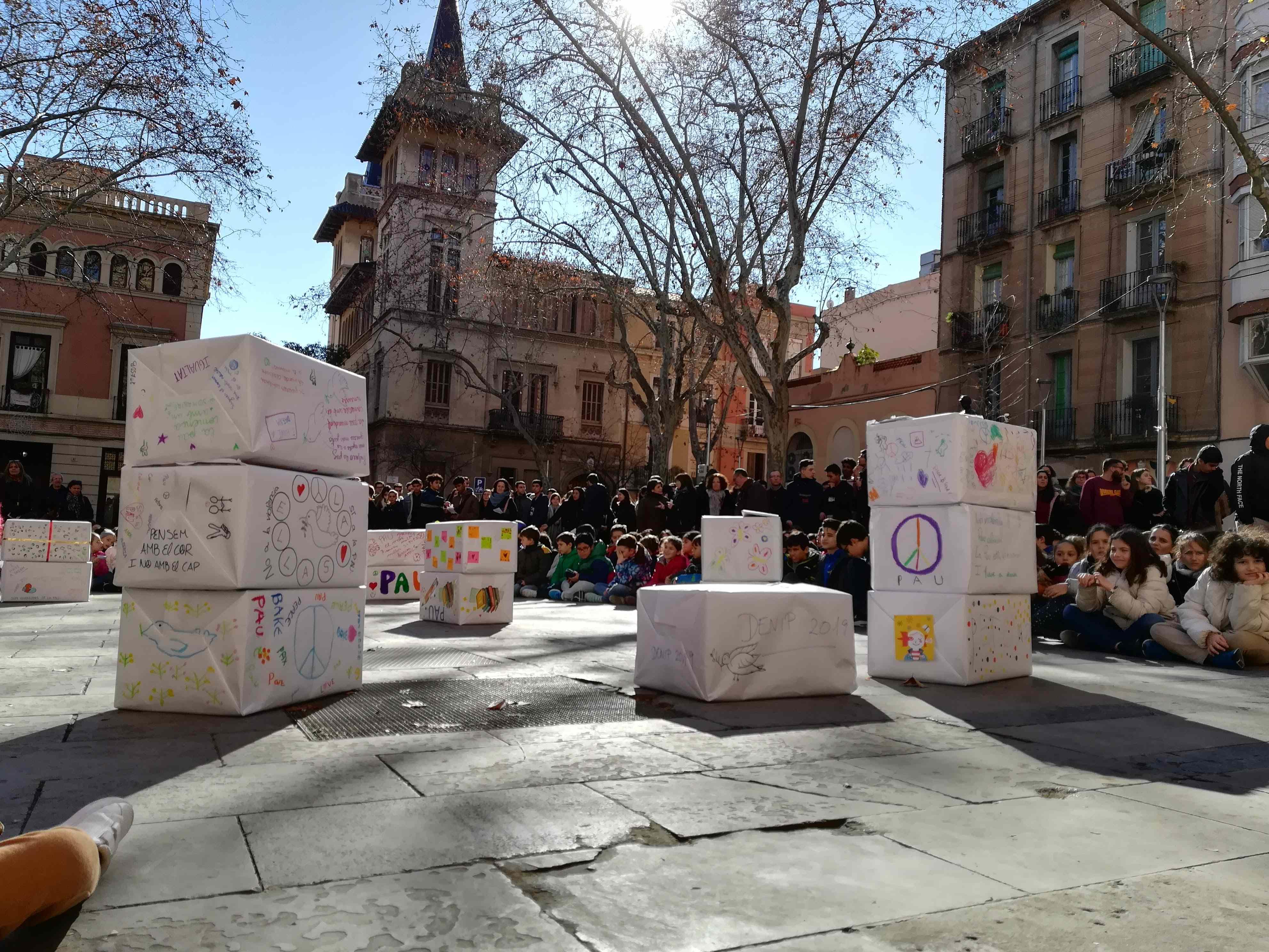 Celebració del Dia Escolar de la No-Violència i la Pau