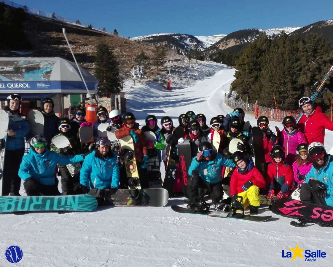 Colònies: Snowboard a Port del Comte (5è de primària)