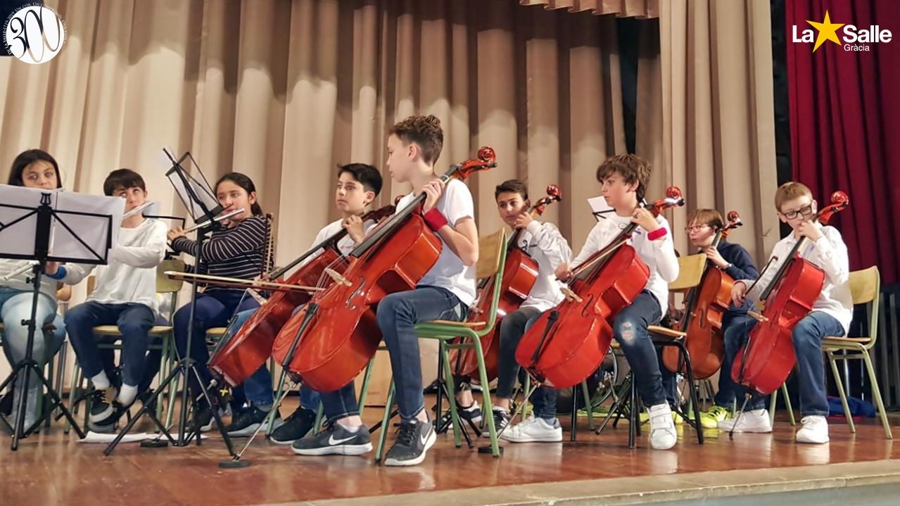 Intercanvi musical amb l'Escola Pia Santa Anna de Mataró