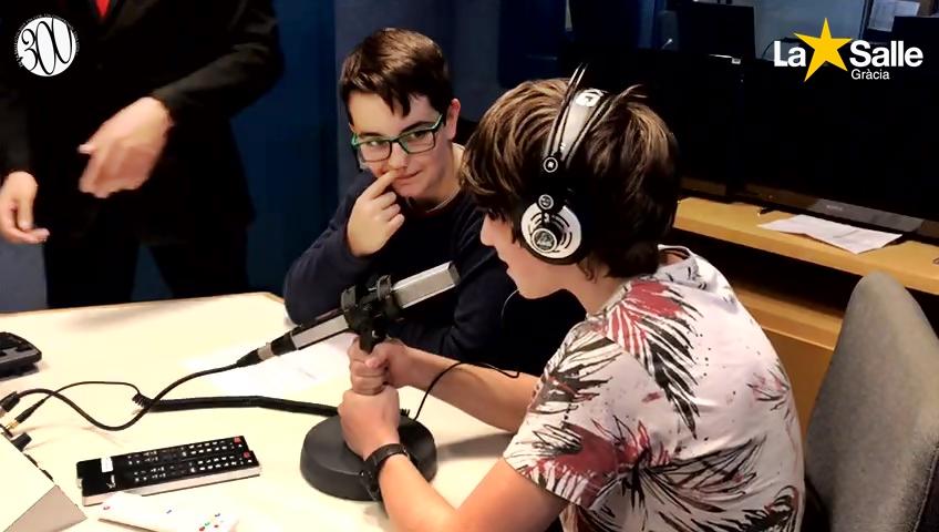 Visita a Catalunya Ràdio (2n d'ESO)