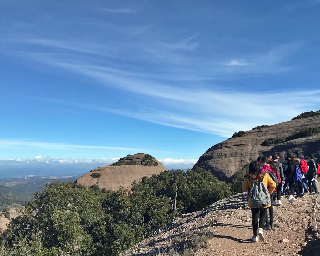 Excursió al parc natural de Sant Llorenç del Munt (2n d'ESO)