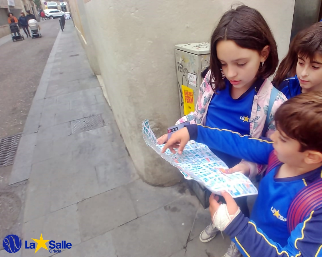 Anàlisi de les zones de joc del barri de Gràcia (3r de primària)