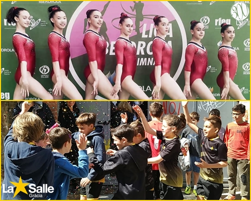 El Club Esportiu La Salle Gràcia recull grans resultats aquesta temporada