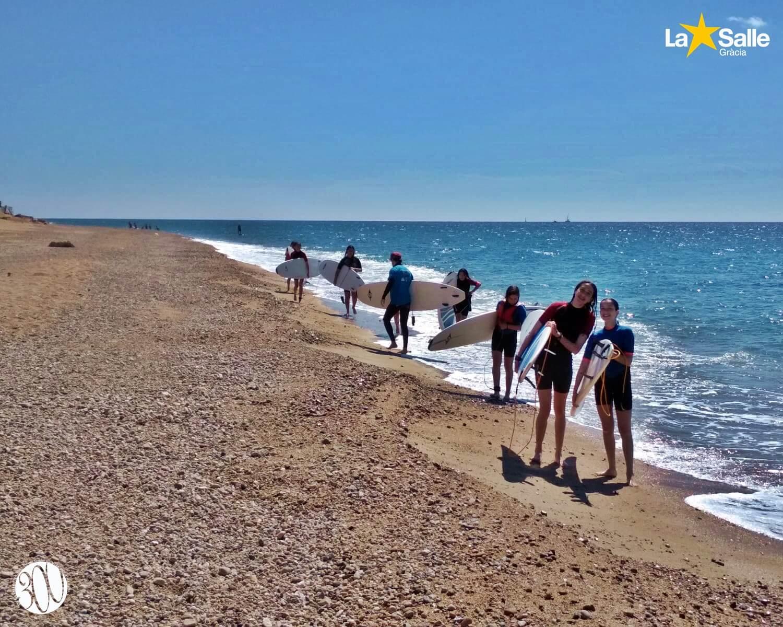 Àlbum de fotos: Colònies a Malgrat de Mar (1r i 2n d'ESO)