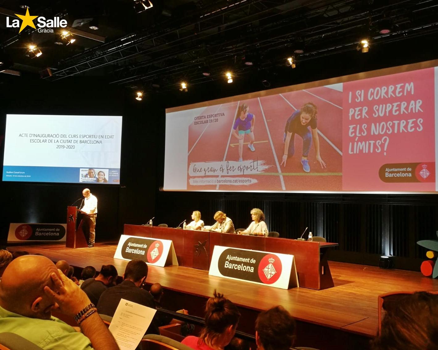 El Club Esportiu de La Salle Gràcia renova la seva acreditació com a entitat esportiva homologada