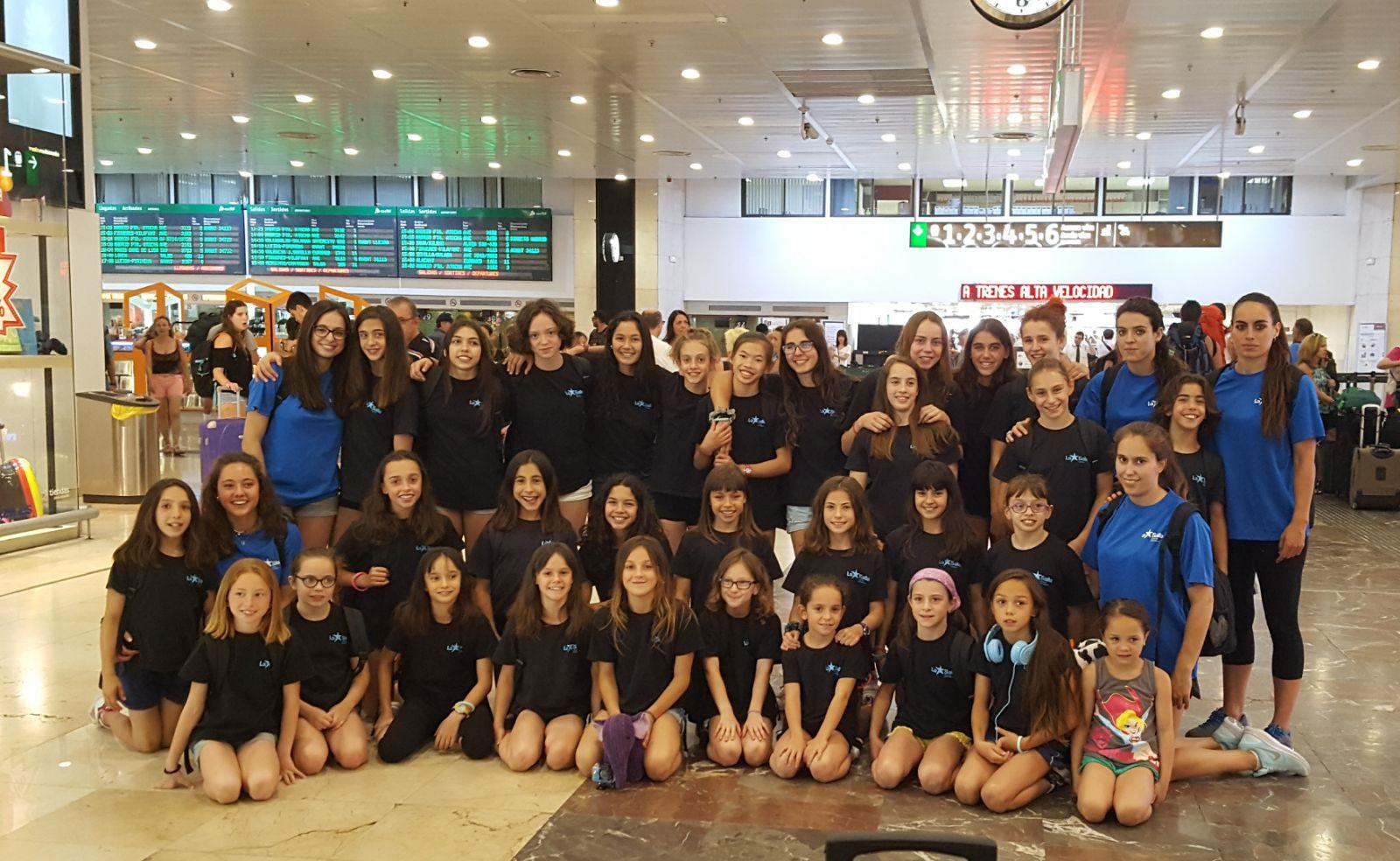 30 gimnastes del C.E. La Salle Gràcia participen en el Campionat d'Espanya Individual de Valladolid