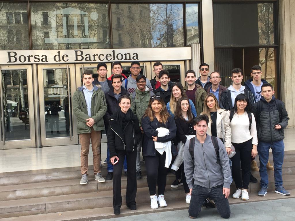 Sortida a la Borsa de Barcelona