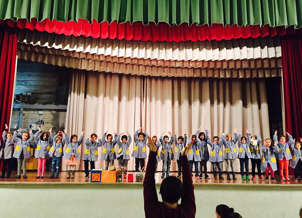 Festivals de Nadal 2016 d'educació infantil i primària