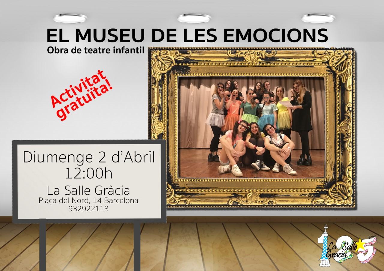 Arriba l'obra de teatre d'Educació Infantil: El Museu de les Emocions