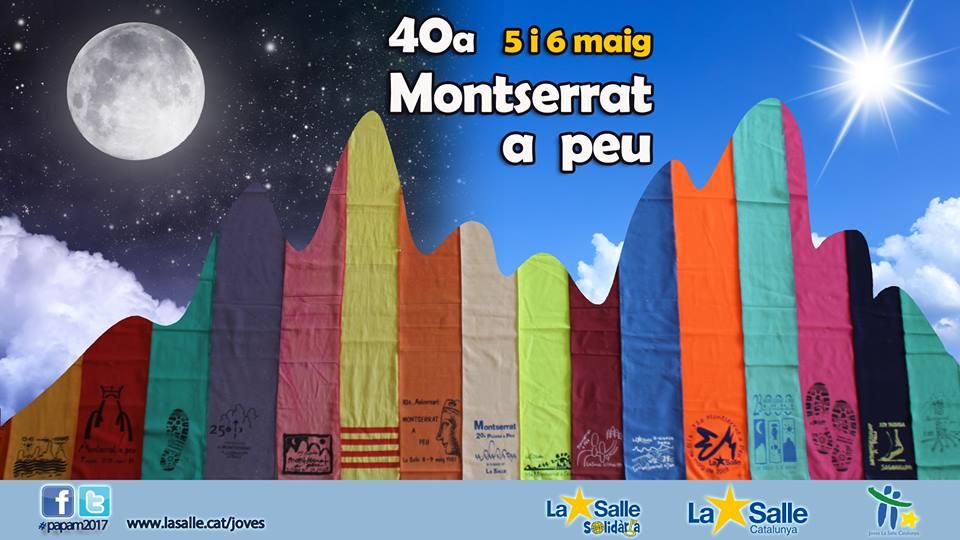 Pujada a Peu a Montserrat 2017