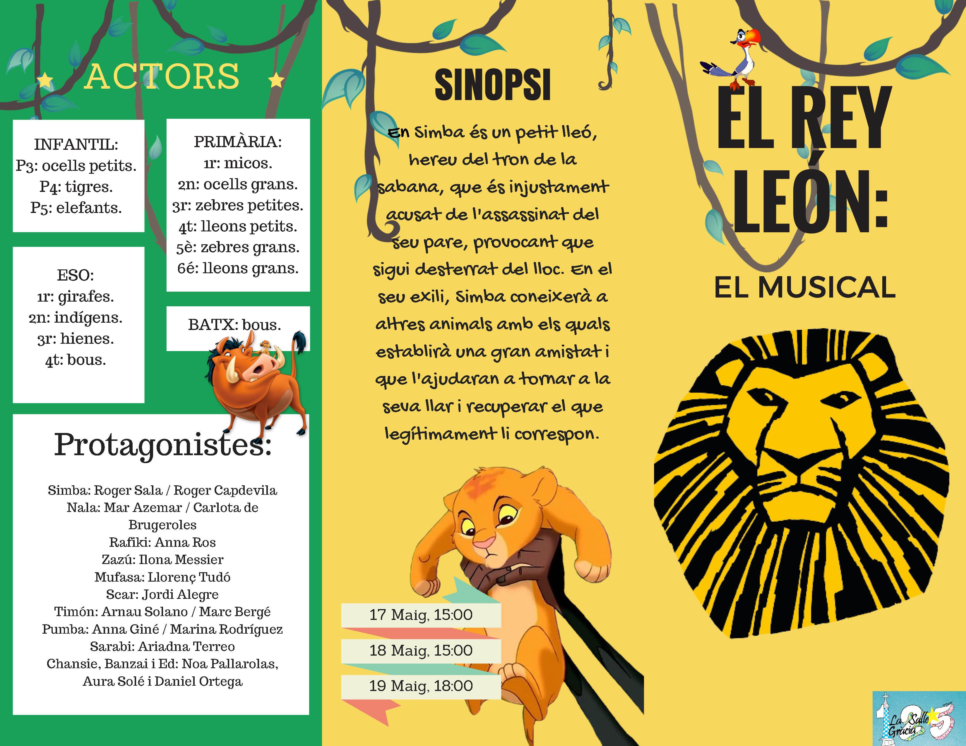 El Rei Lleó: El Musical
