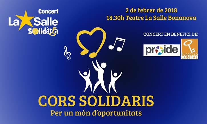 Concert Cors Solidaris. Per un món d'oportunitats
