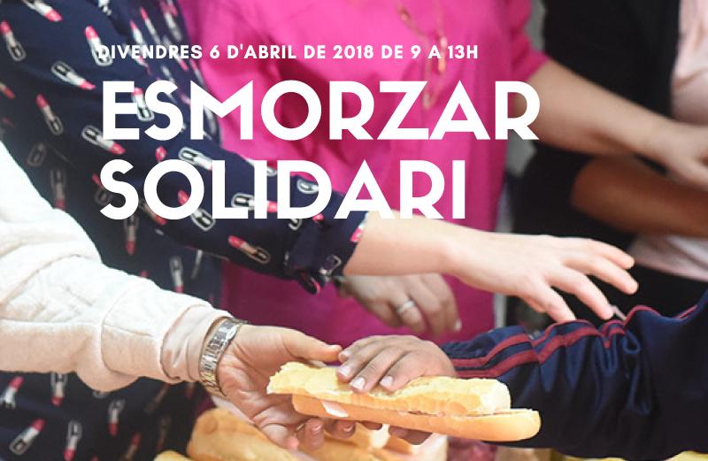 Arriba l'Esmorzar Solidari de la Fundació Comtal