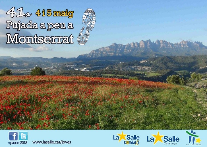 41a Pujada a Peu a Montserrat