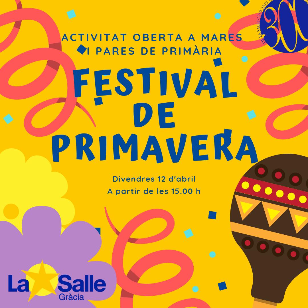 Festival de primavera (primària)