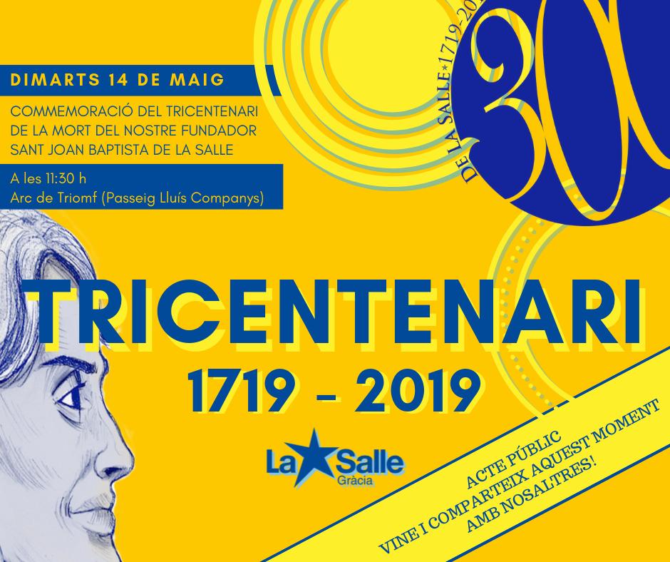 Acte públic de commemoració del tricentenari
