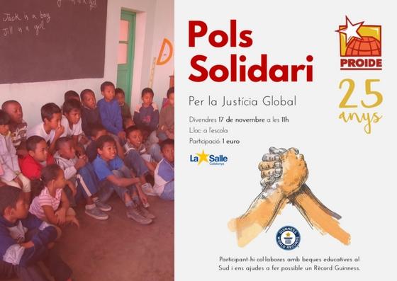 El Pols Solidari: <i>Guanyem un pols per la Justicia Social</i>