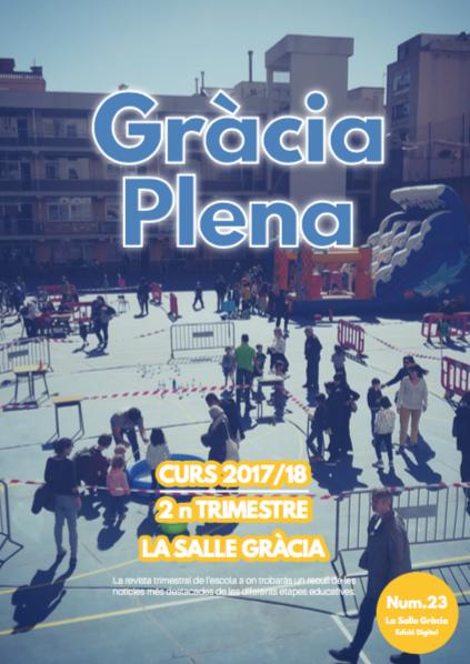 Revista Gràcia Plena, núm. 23